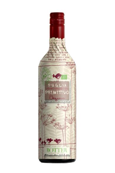Botter Primitivo Puglia IGT Organic